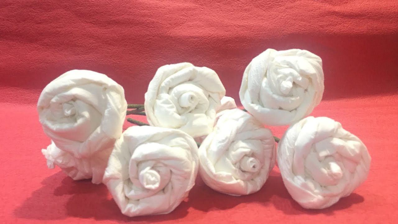 Diy Easy Tissue Paper Roses For Mother S Day Easy Paper Roses