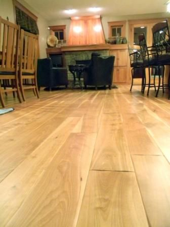 Red Birch Plank Flooring Balsam Wide
