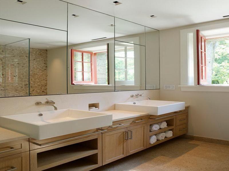 Bathroom Mirrors Large Bathroom Mirrors Large Bathrooms Modern Farmhouse Bathroom