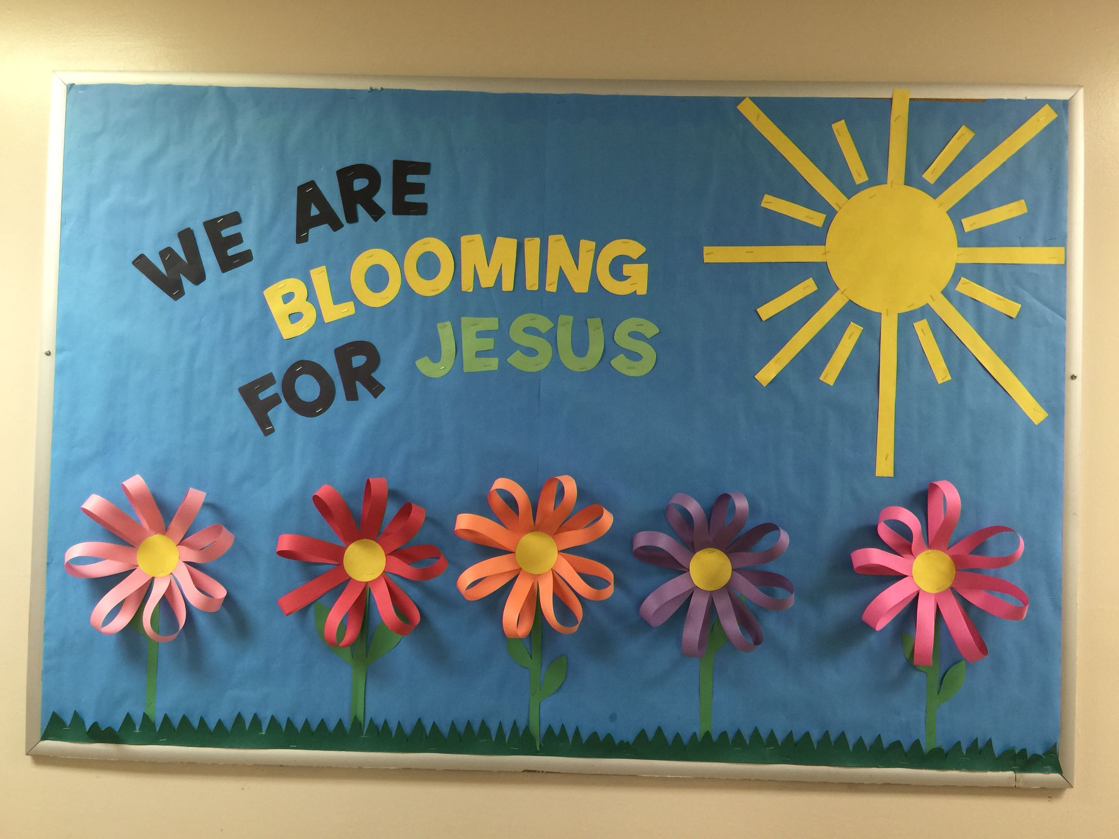 Christian Bulletin Board For Spring