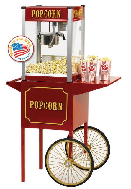 Old Fashioned Movie Time Popcorn Machine Price