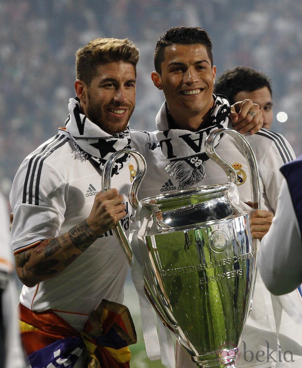 World Cup soccer stars Sergio Ramos and Cristiano Ronaldo ... |Sergio Ramos And Cristiano Ronaldo