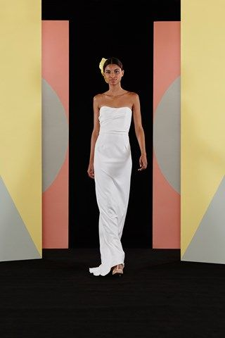 Catwalk photos and all the looks from Charlie Brear - Bridal Spring/Summer 2017 Ready-To-Wear New York Fashion Week