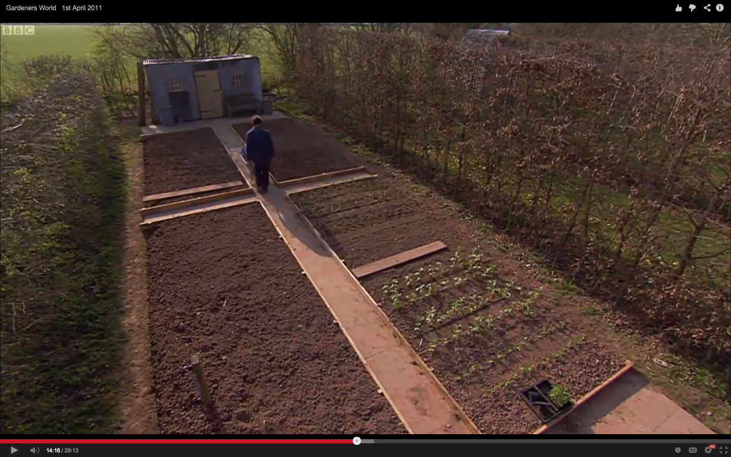 Monty Don\'s Veg Garden at Longmeadow. Now, if only I could figure ...