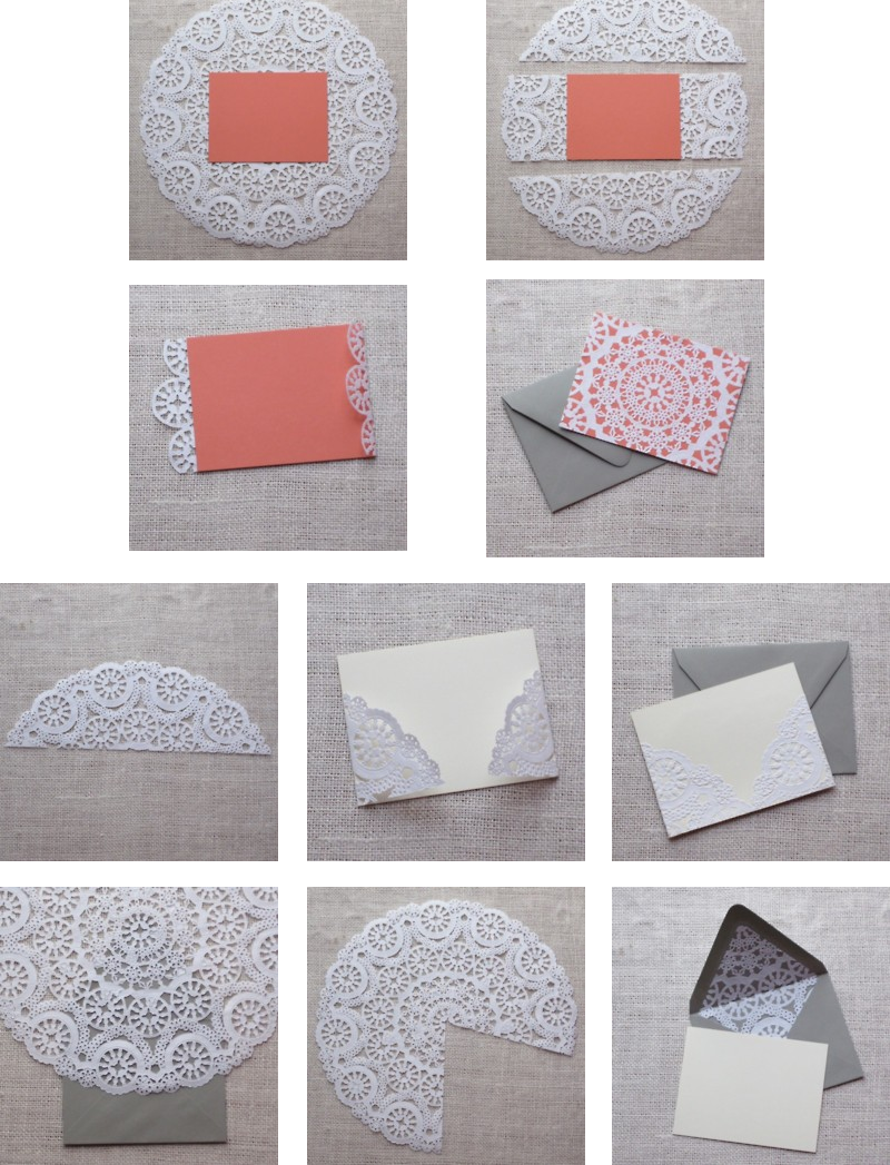 Fabulous idea for the inside of wedding invites or thank you cards