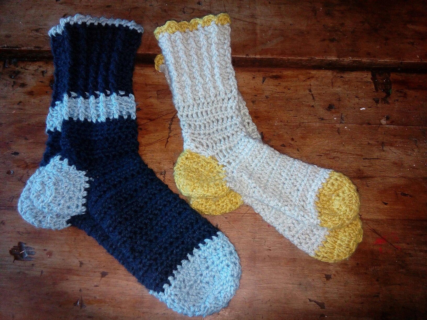 Socks for Shane and I | things I\'ve made | Pinterest