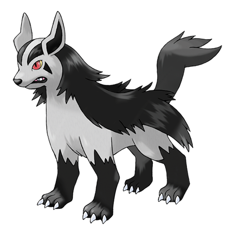 Mightyena | pokemon | Pokemon original, Pokemon realista y Fotos de ...