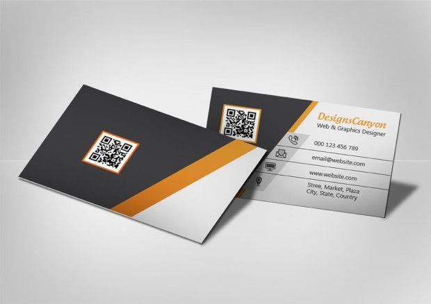 Creative Business Card Mock Up Psd File Free Download
