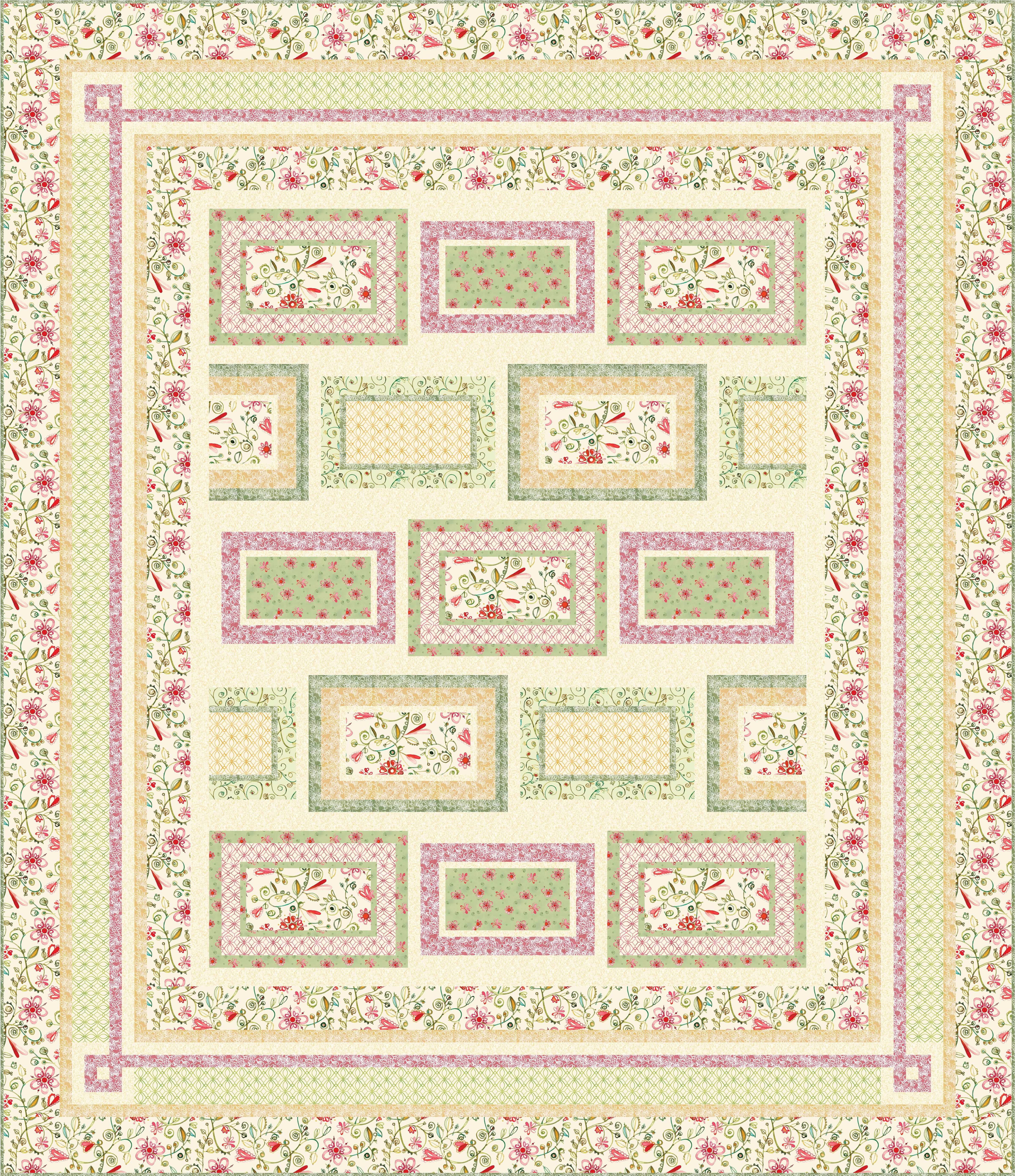 FREE PATTERN: Ariel | Ariel, Patterns and Free pattern : quilting treasures free patterns - Adamdwight.com