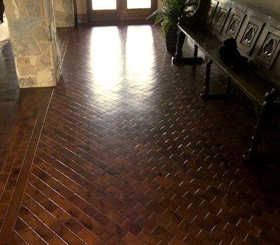 Mesquite flooring end grain home interior pinterest for Mesquite flooring
