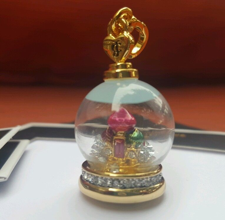 Juicy Couture SNOW GLOBE CHARM New with TAGS! #JuicyCouture