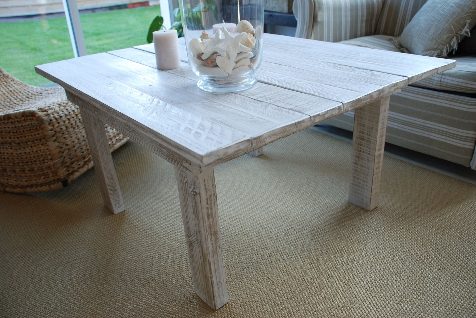 Table basse style bord de mer meubles et rangements par atelier quatrecoeurs meubles anciens for Meuble style bord de mer
