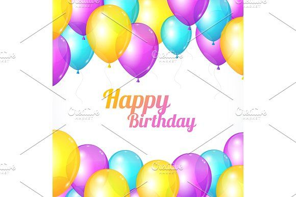Color happy birthday cardctor graphics color happy birthday card color happy birthday cardctor graphics color happy birthday card vector illustration eps bookmarktalkfo Image collections
