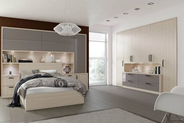 Best Bespoke Contemporary Bedroom Furniture Fitted Bedrooms 400 x 300