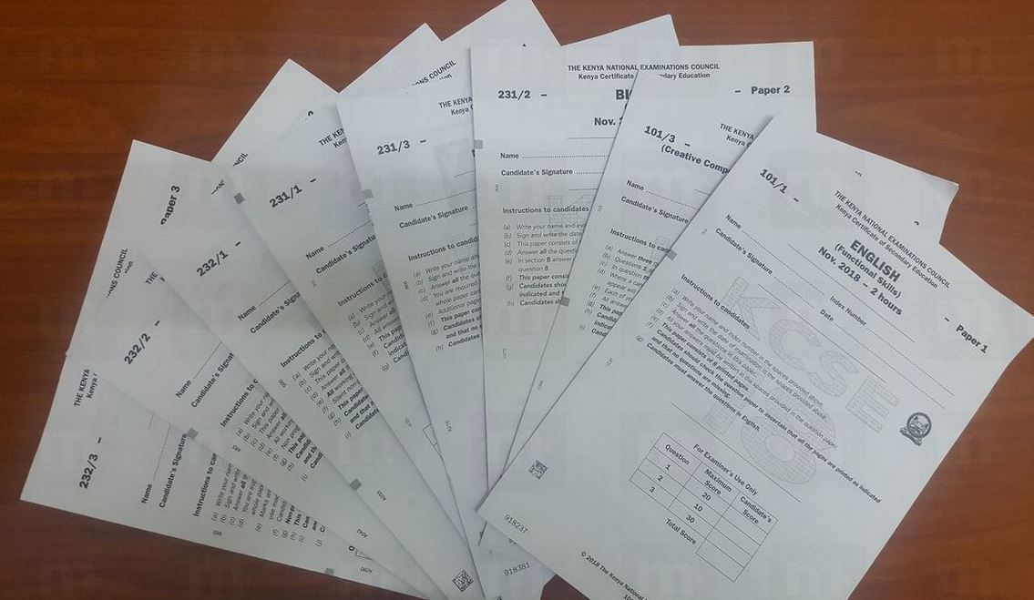 KCSE 2018 Past Papers with Answers from KNEC (Download ...