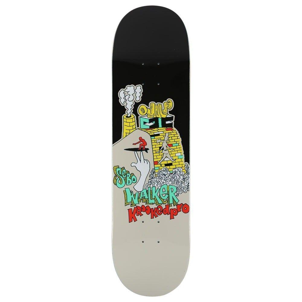 Krooked Complete Skateboard Sebo Walker 1st Board