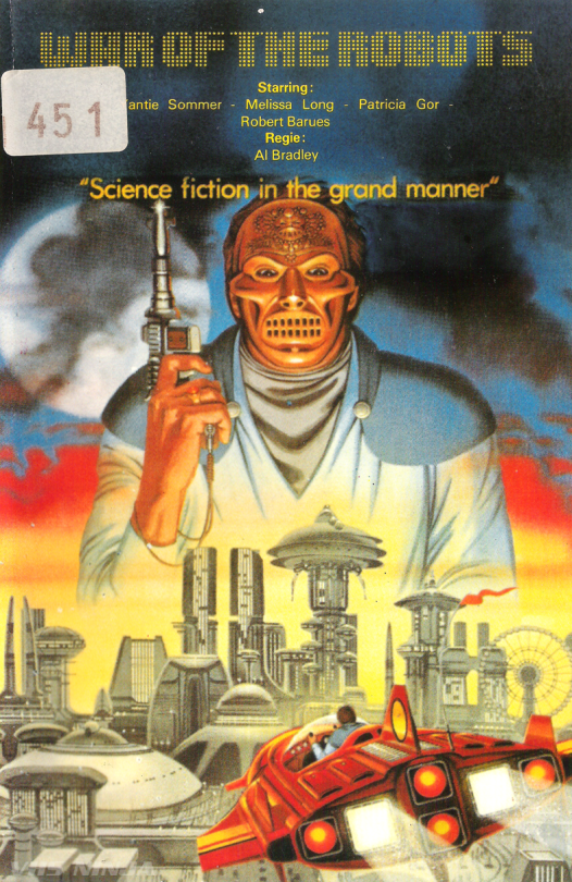 War of the Robots (1978) by Alfonso Brescia