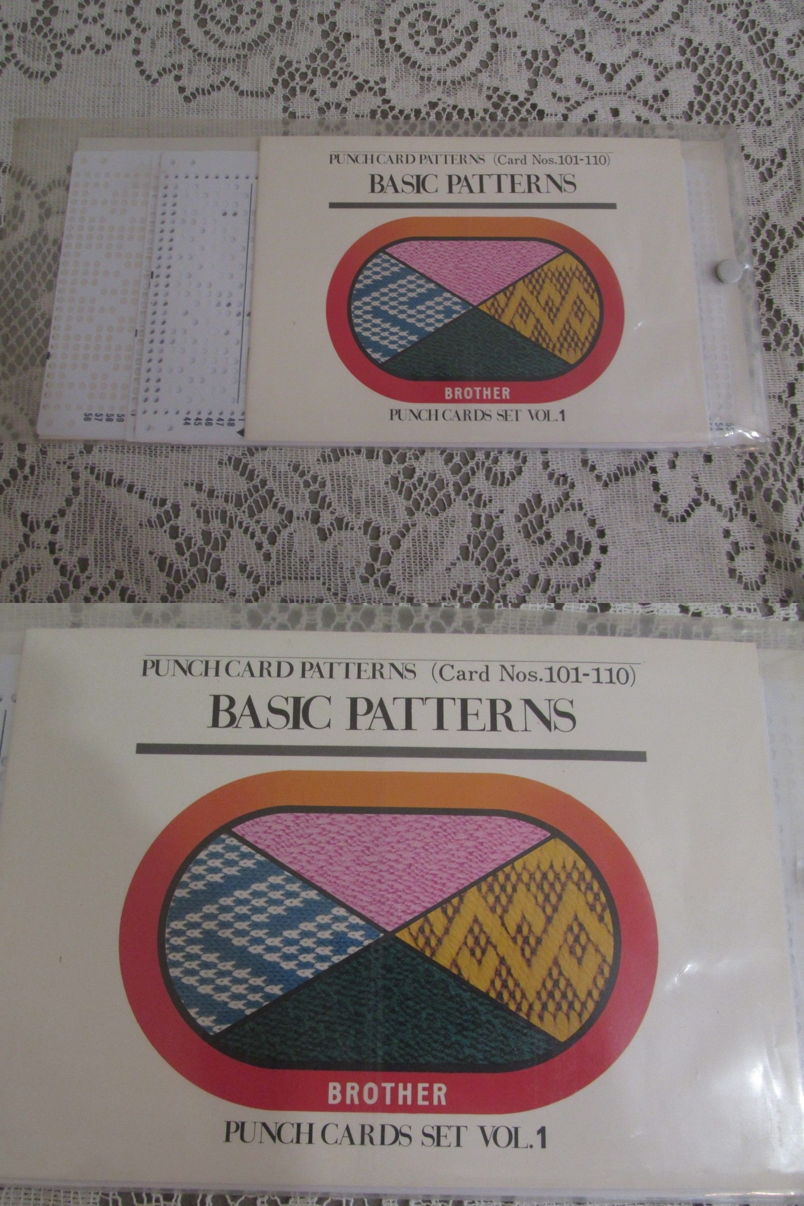 Machine Knitting Patterns 146375: Brother Basic Patterns ...