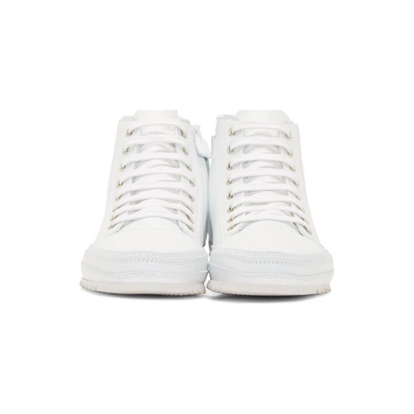 timeless design dc23f 71f0c Montantes Cuir Blanches Baskets En Costume Sneakers National