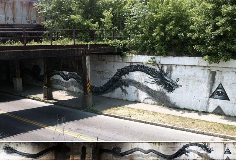 Arte de rua 3D com desenhos magníficos de encher os olhos criados por DALeast (1)