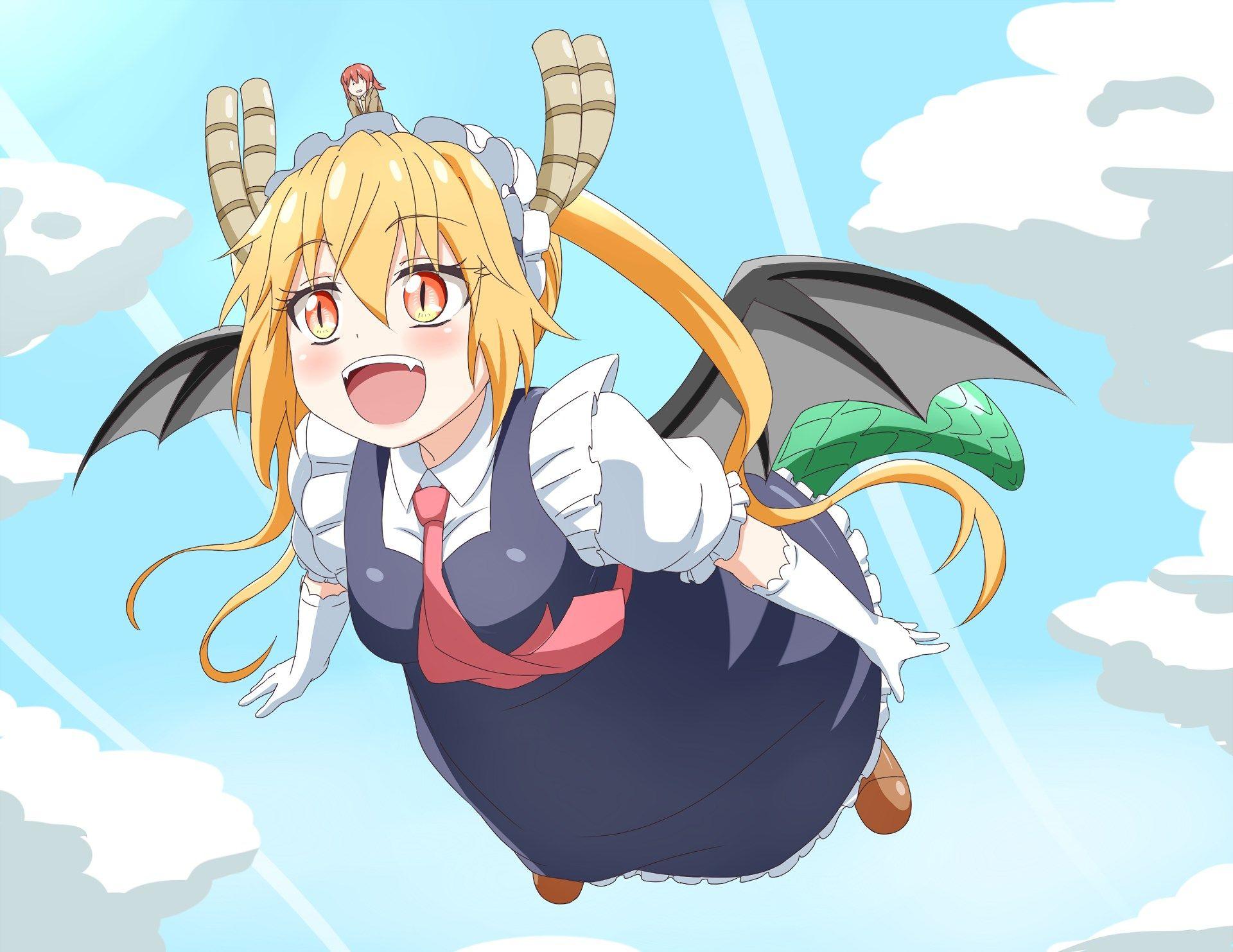 Background High Resolution: miss kobayashis dragon maid ...