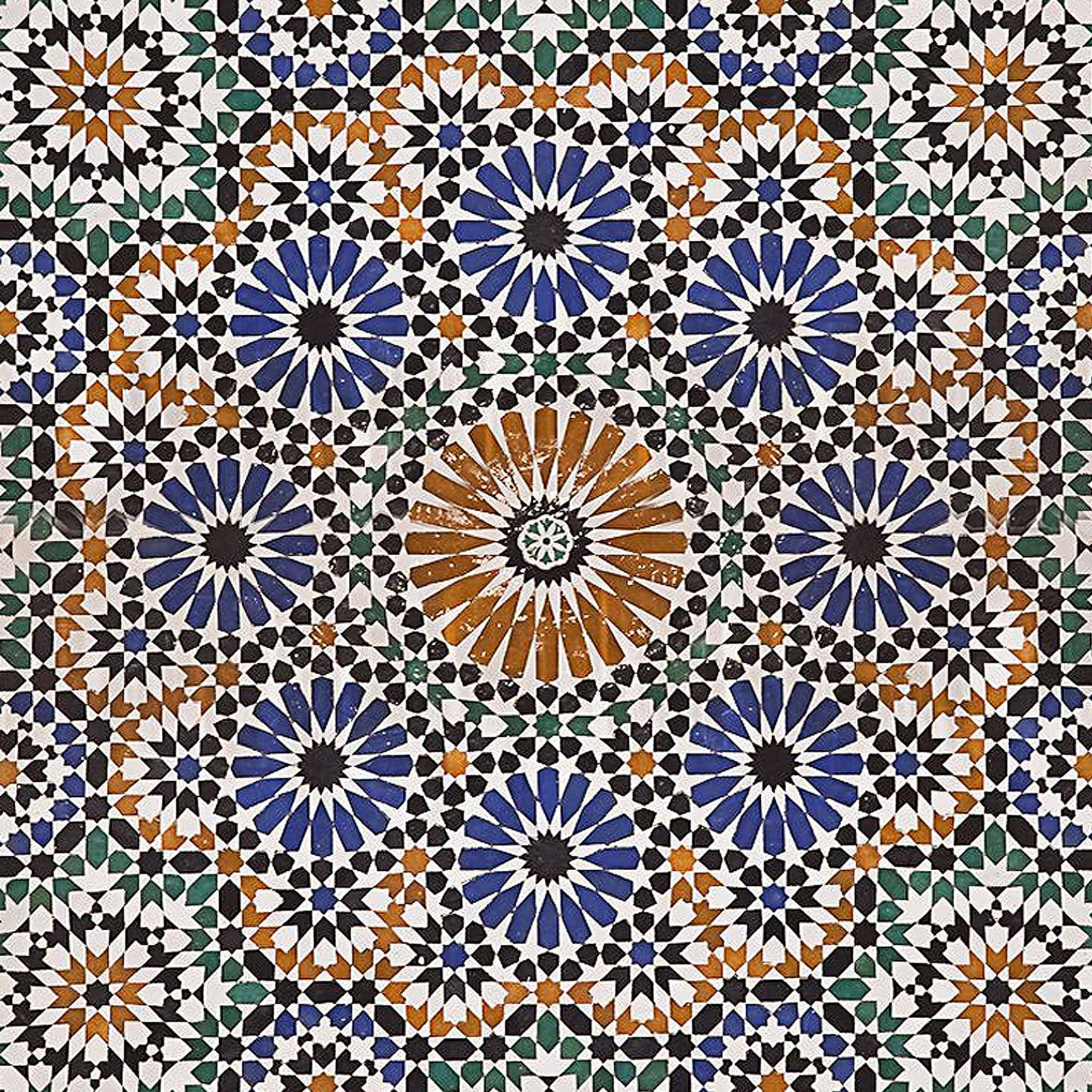 Morocco Mosaic Printed Ceiling Tile In 2018 Home Decor Mosaic