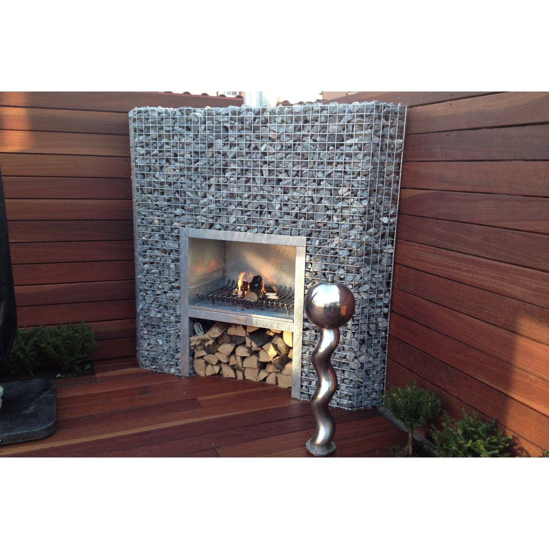 gabionen eckkamin xl garten pinterest eckkamin grill und steink rbe. Black Bedroom Furniture Sets. Home Design Ideas
