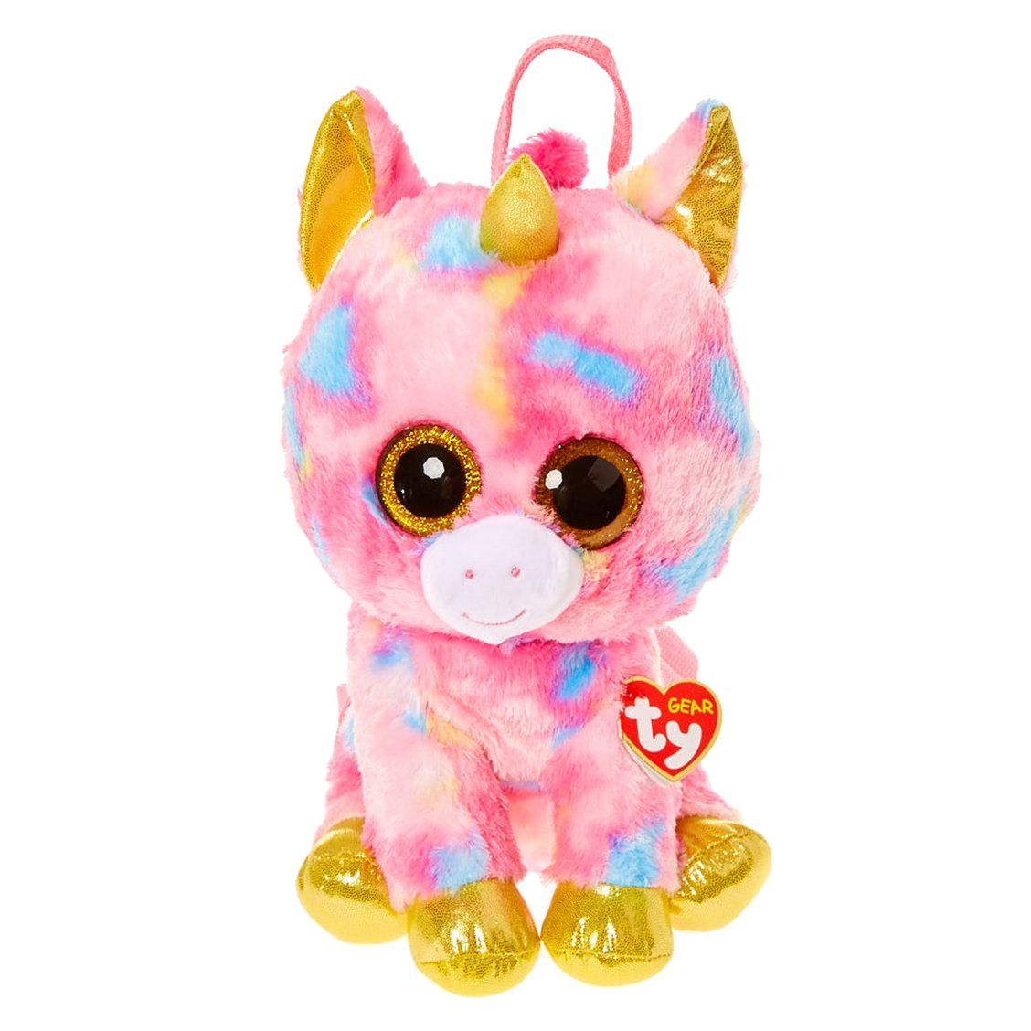 TY Beanie Boo Fantasia the Unicorn Backpack  ad4fef3ffc8c