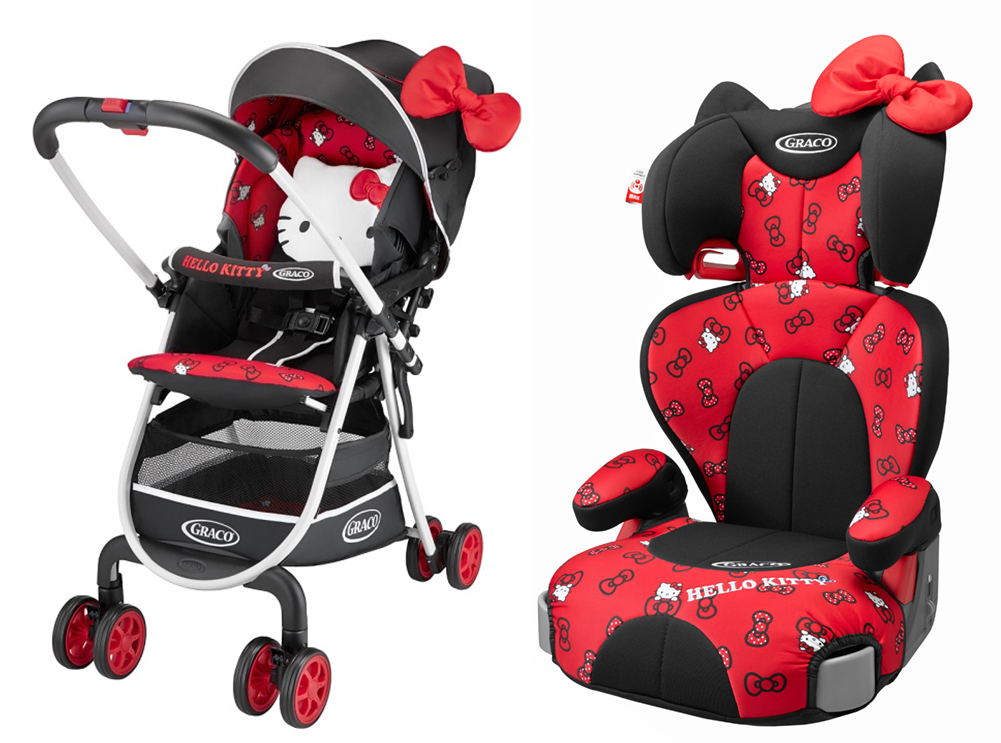 Baby Strollers And Car Seats: Japan Graco Hello Kitty Baby Stroller & Car Seat!!!