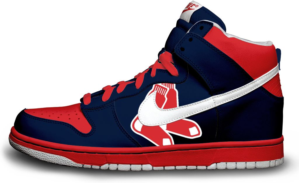 nike air force mid 07 red sox