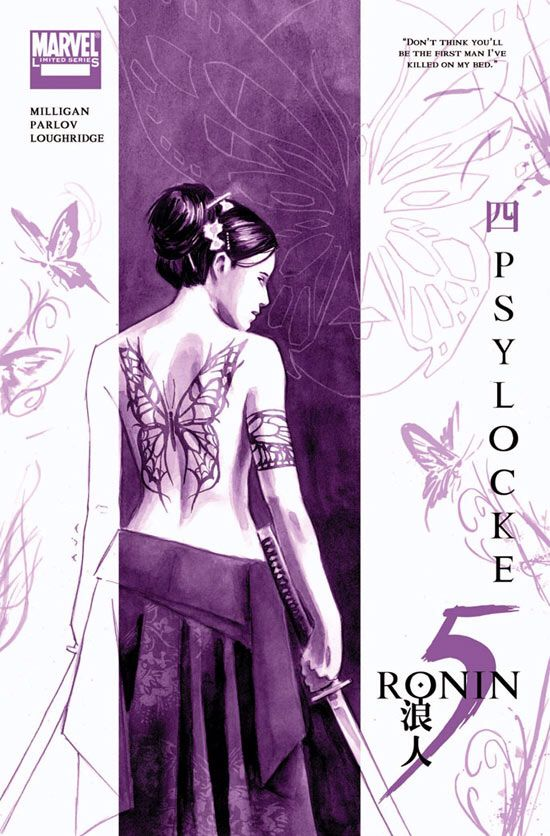 Ronin 5 Psylocke