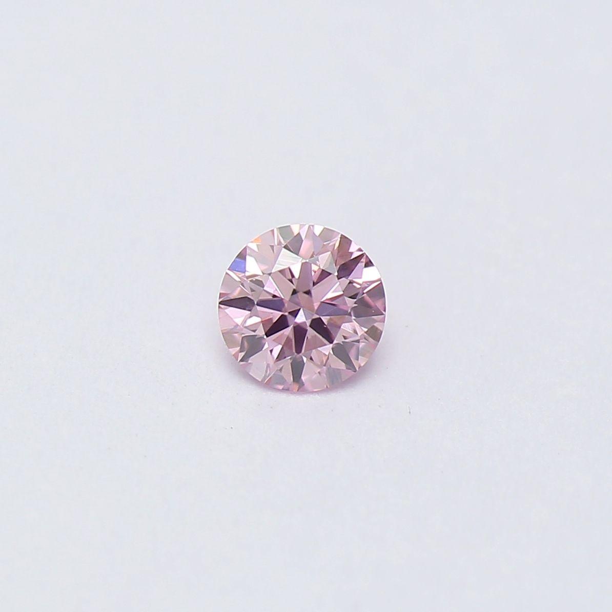 39aafbfae Round 0.08 6PP Argyle Pink Diamond   Loose Coloured Diamonds ...