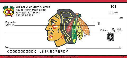 Nhl Checks Chicago Blackhawks Logo Chicago Blackhawks Nhl