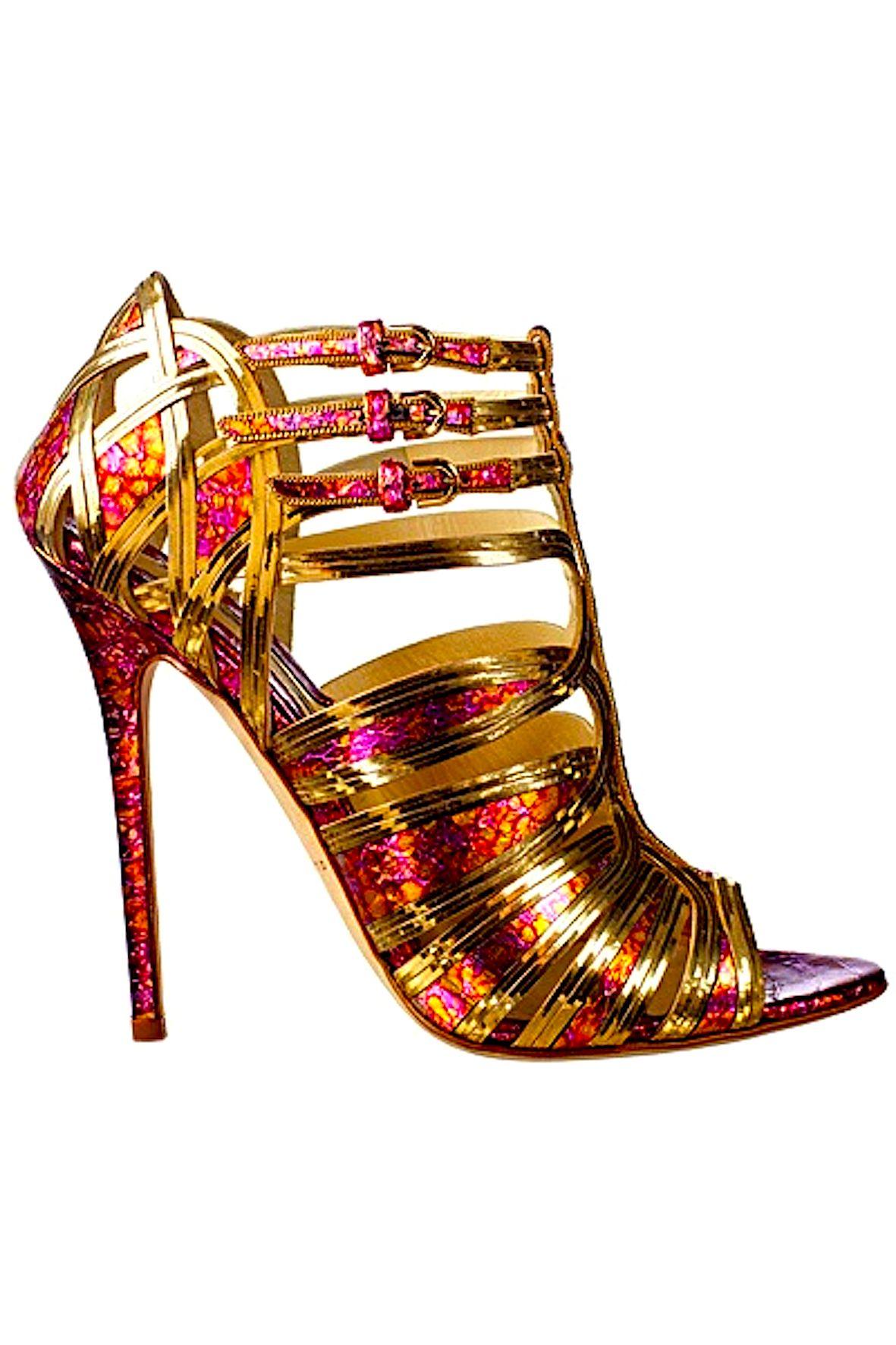 Brian Atwood  Heel Joy  Pinterest  Metallic gold Metallic and