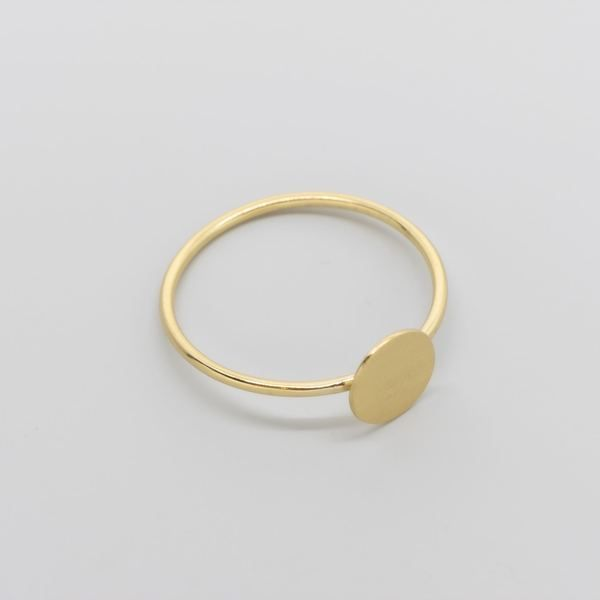 Photo of fejn jewelry ring 'Satin Disc'