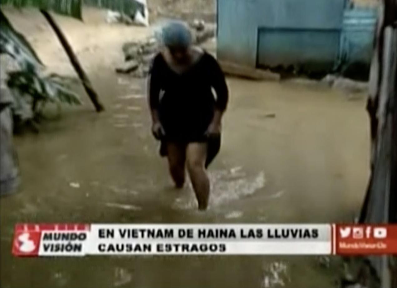 En Vietnam De Haina Las Lluvias Causan Estragos