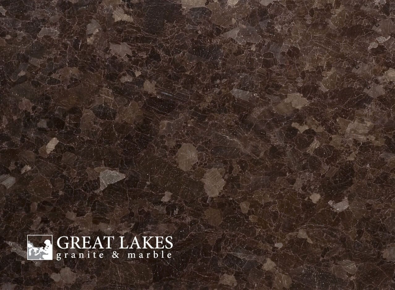 Antique Brown Granite From Angola Is A Brown Colored Slab