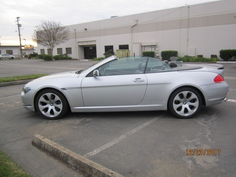BMW CI CONVERTIBLE FULLY LOADED LOW PRICE CARS FOR SALE - 645 bmw price