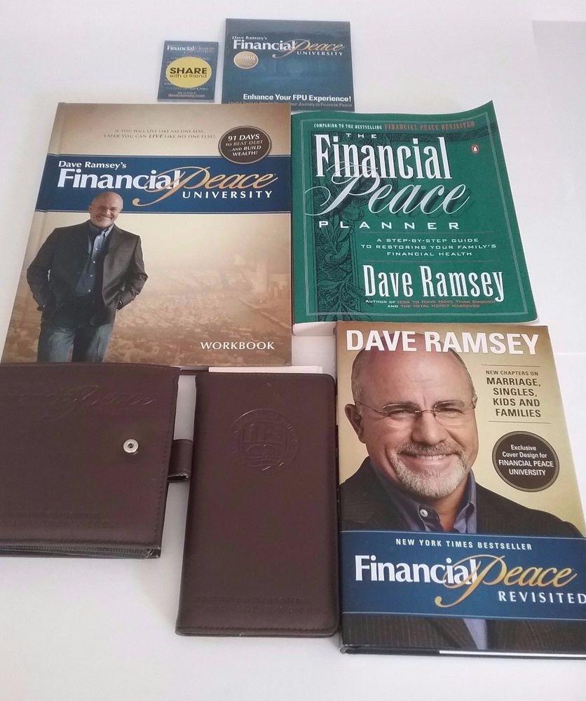 Dave Ramsey's Financial Peace University Membership Kit CDs Workbook Envelope #DaveRamsey