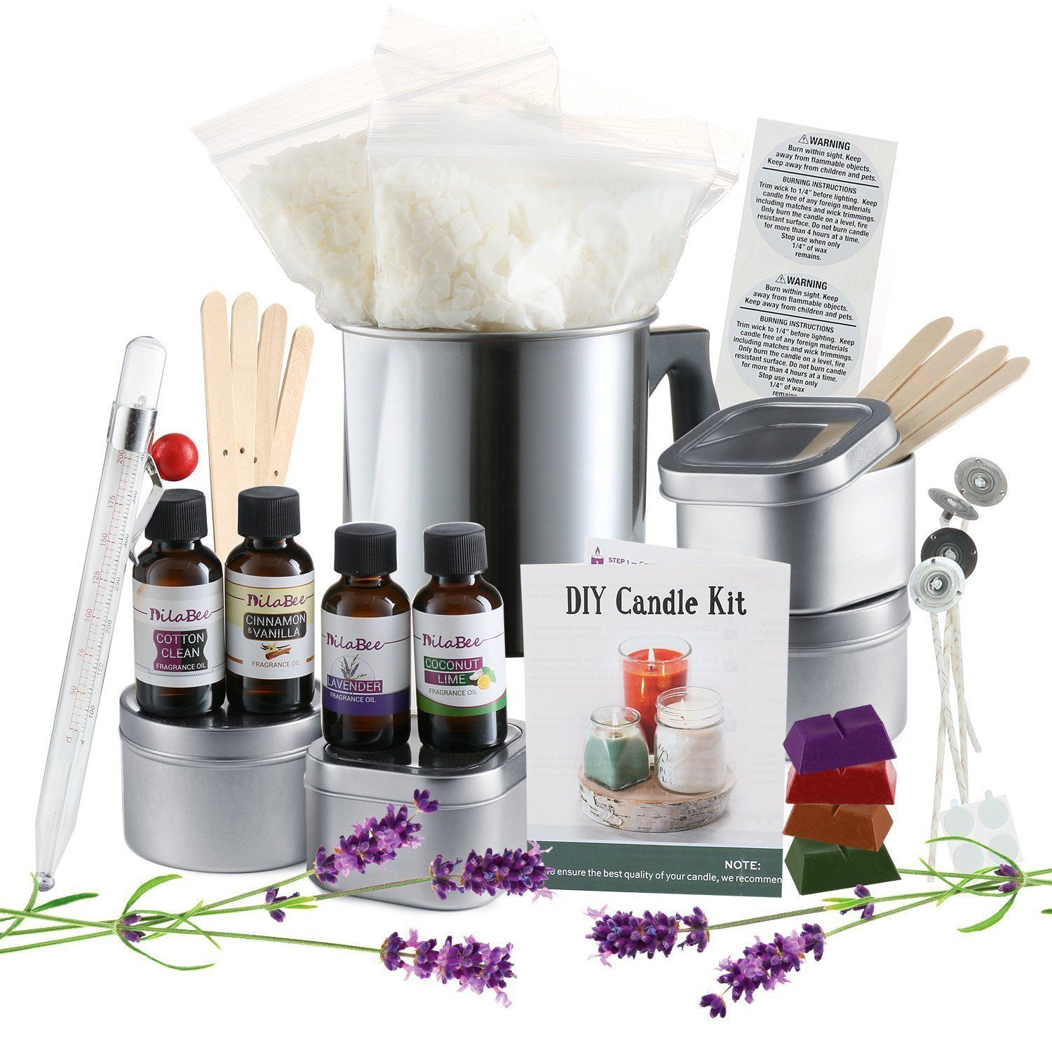 Complete DIY Candle Making Kit Supplies Diy candle