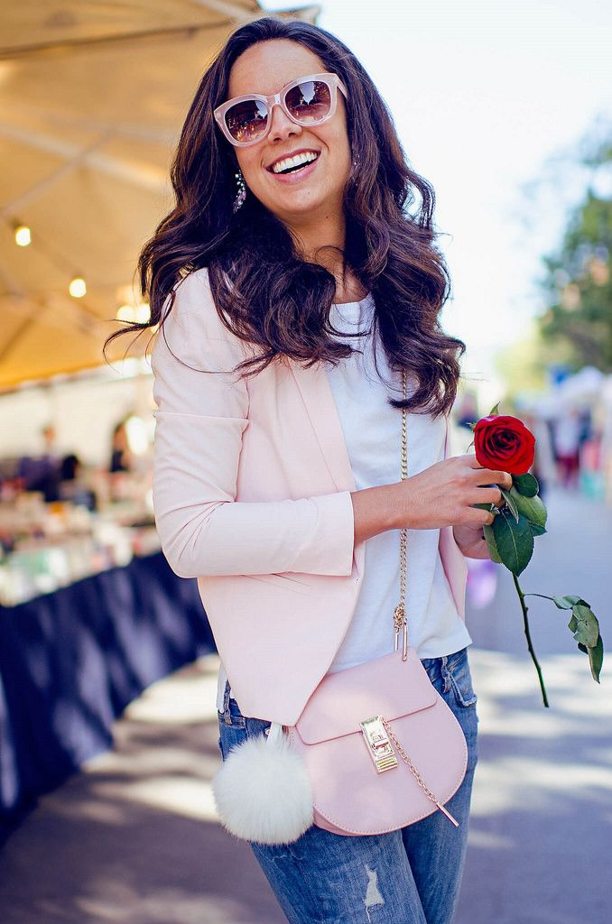 3771520e2 Cómo combinar una americana rosa en tu look de primavera ...