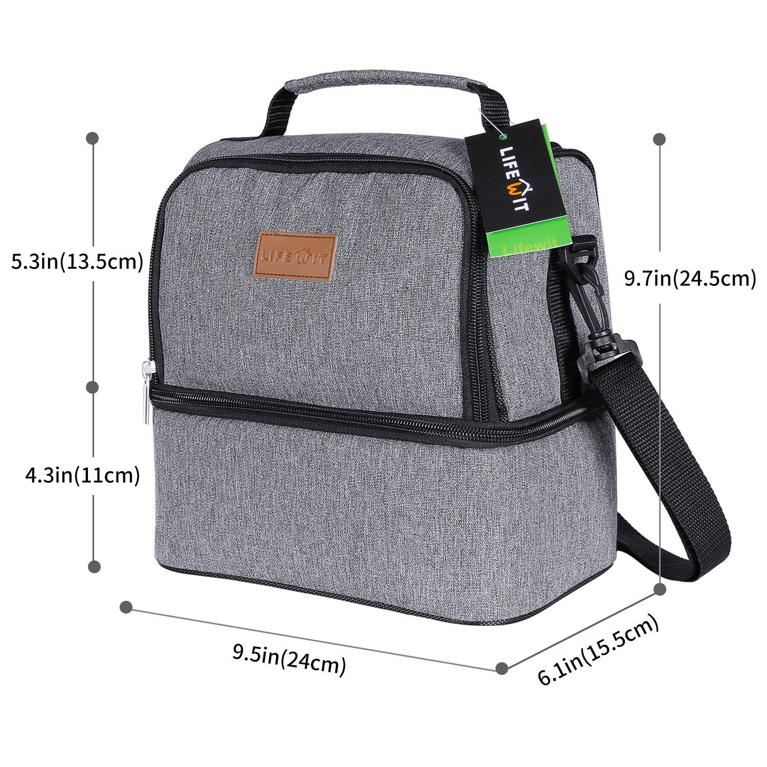 Amazon Com Lifewit Insulated Lunch Box For Adults Men Women