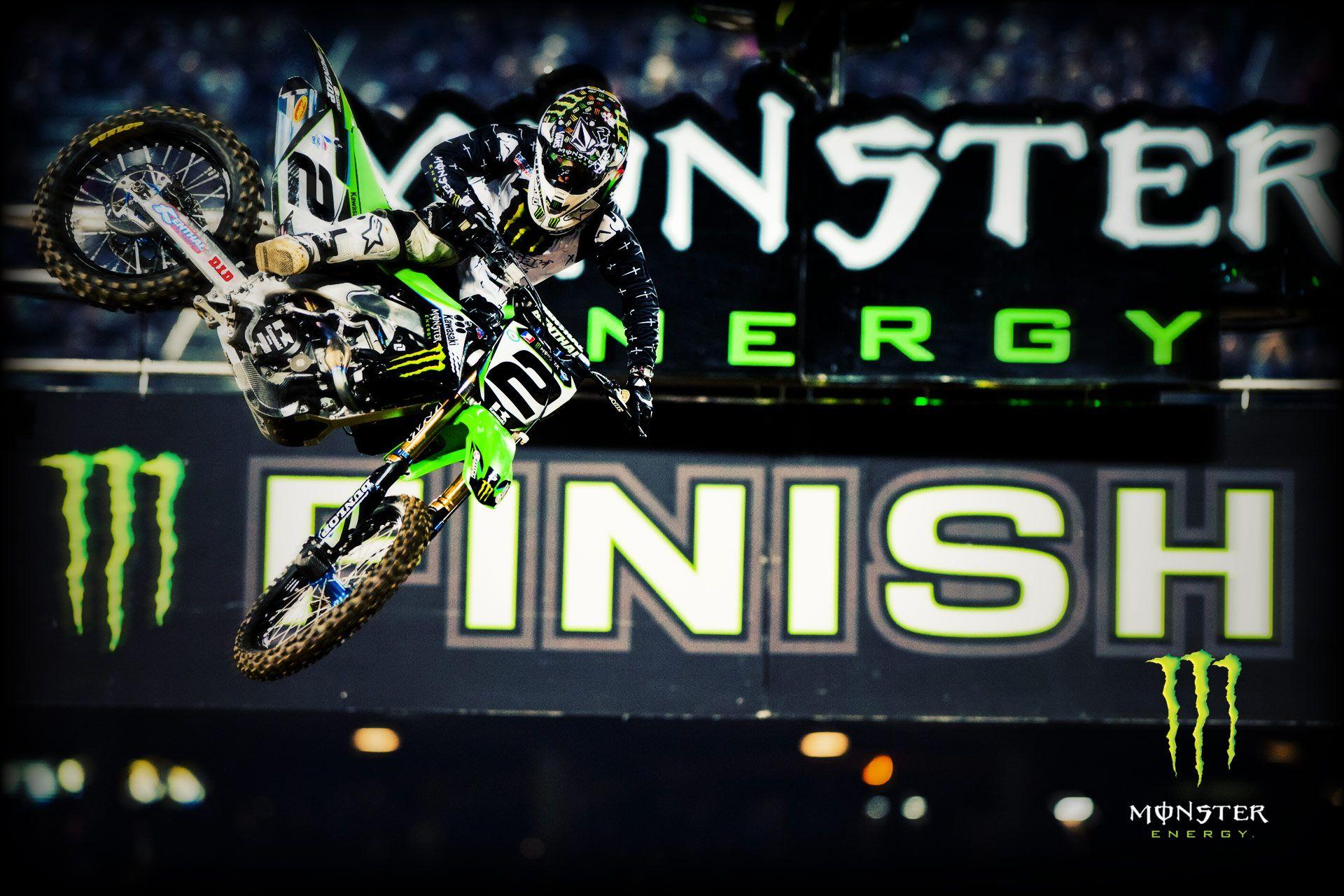 Monster Energy Wallpapers From LA Supercross