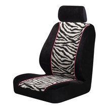 Auto Expressions Zebra Print Seat Cover Walmart Com Zebra Print Truck Seat Covers Seat Cover