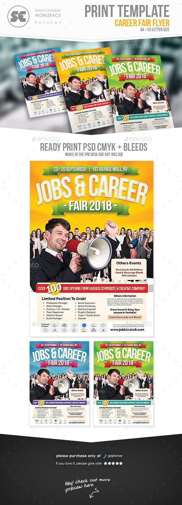 jobs career fair flyer flyers flyer template and kids summer camps jobs career fair flyer