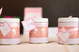 """""""Unexpected Treasures!"""" Favor Tin with Pre-Tied Organza Bow (Set of 12) Original Unit Price: As low as $1.42 Sale Price: $1.20 (15% off)"""