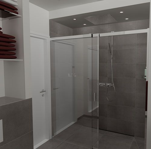 badkamer ontwerp zonder bad + wc - Google zoeken - badkamer ...