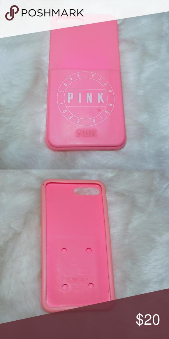 sports shoes f06fe 24d78 Pink Victoria Secret IPhone 6/7 Plus W/card holder Pink Victoria ...