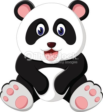 Pin by DMdetallitos y manualidades on dibujos de pandas  Pinterest