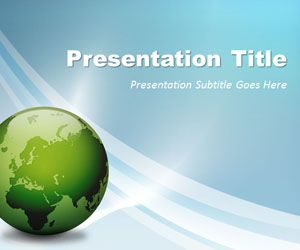 Free Global Business Powerpoint Template Plantillas Gratuitas